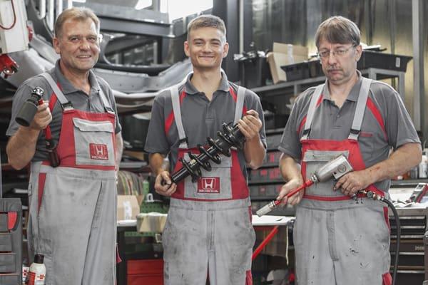 Werkstatt-Serviceteam