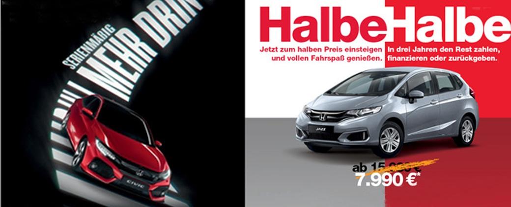 Honda 50/50-Angebot | Autohaus Braun Lampertheim-Hüttenfeld