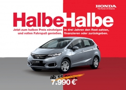 Honda Jazz Halbe-Halbe | Autohaus Braun Lampertheim-Hüttenfeld