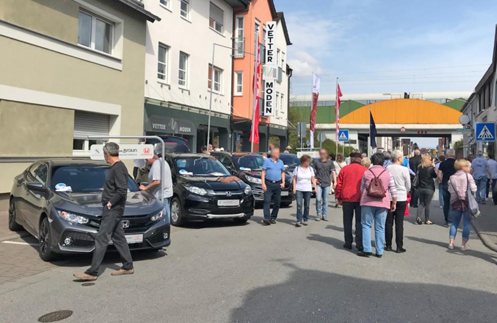 Bürstädter Frühjahrsmarkt   Autohaus Braun Lampertheim-Hüttenfeld