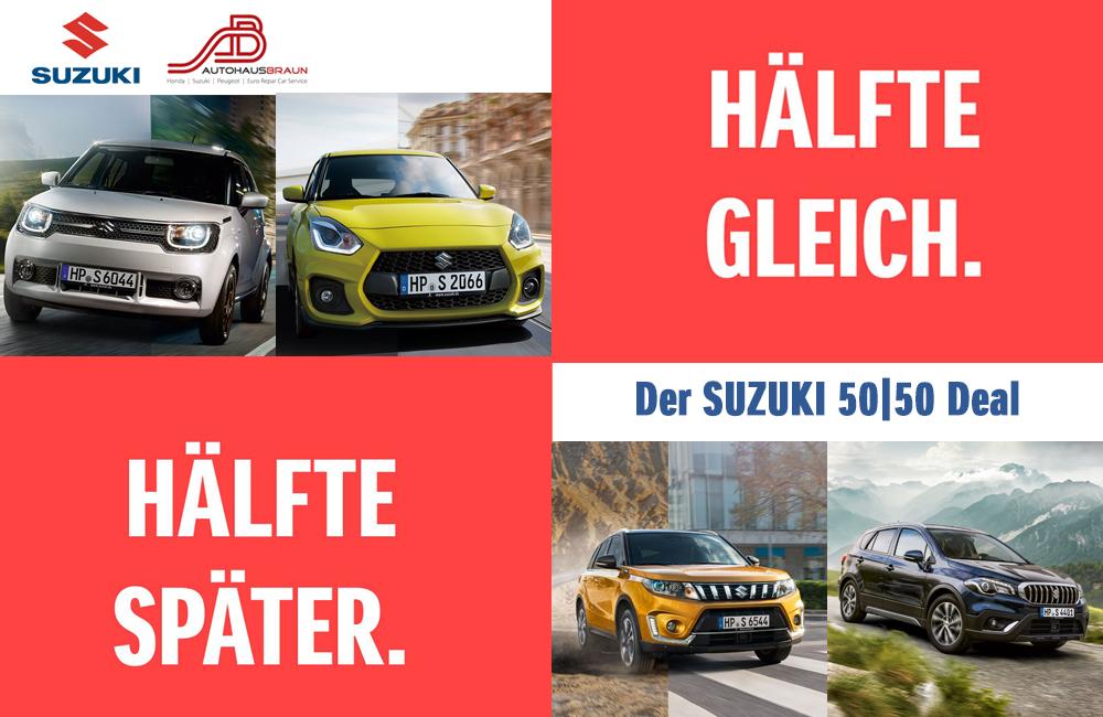 Der SUZUKI 50 50 Deal   Autohaus Braun Lampertheim-Hüttenfeld