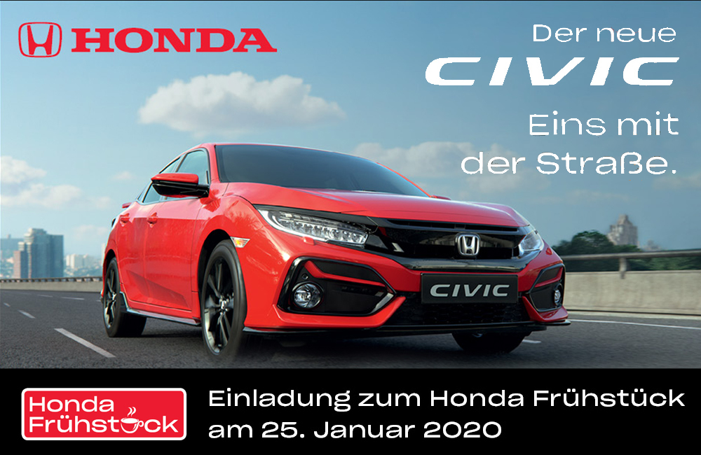 Honda Frühstück 2020 | Autohaus Braun Lampertheim-Hüttenfeld